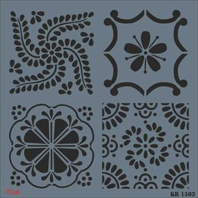 Fayans Stencil Xl 30x30 cm