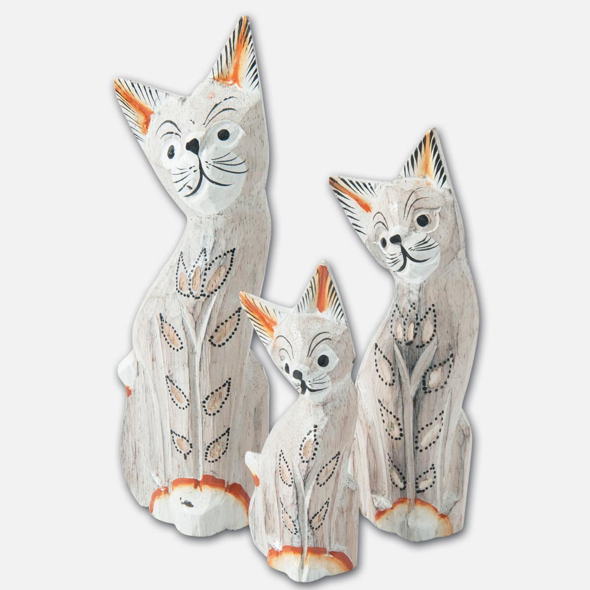 Kedi 3'lü Biblo Seti