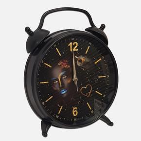 Dekoratif Arap Kız Masa Saati
