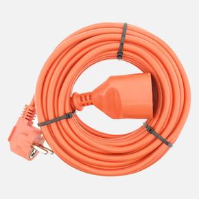 3x1 mm Ttr 10 metre Erkek-Dişi Baskılı Uzatma Kablosu