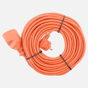 3x1 mm Ttr 20 metre Erkek-Dişi Baskılı Uzatma Kablosu