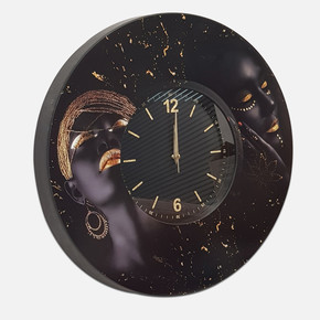 Dekoratif Saat Arap Kız