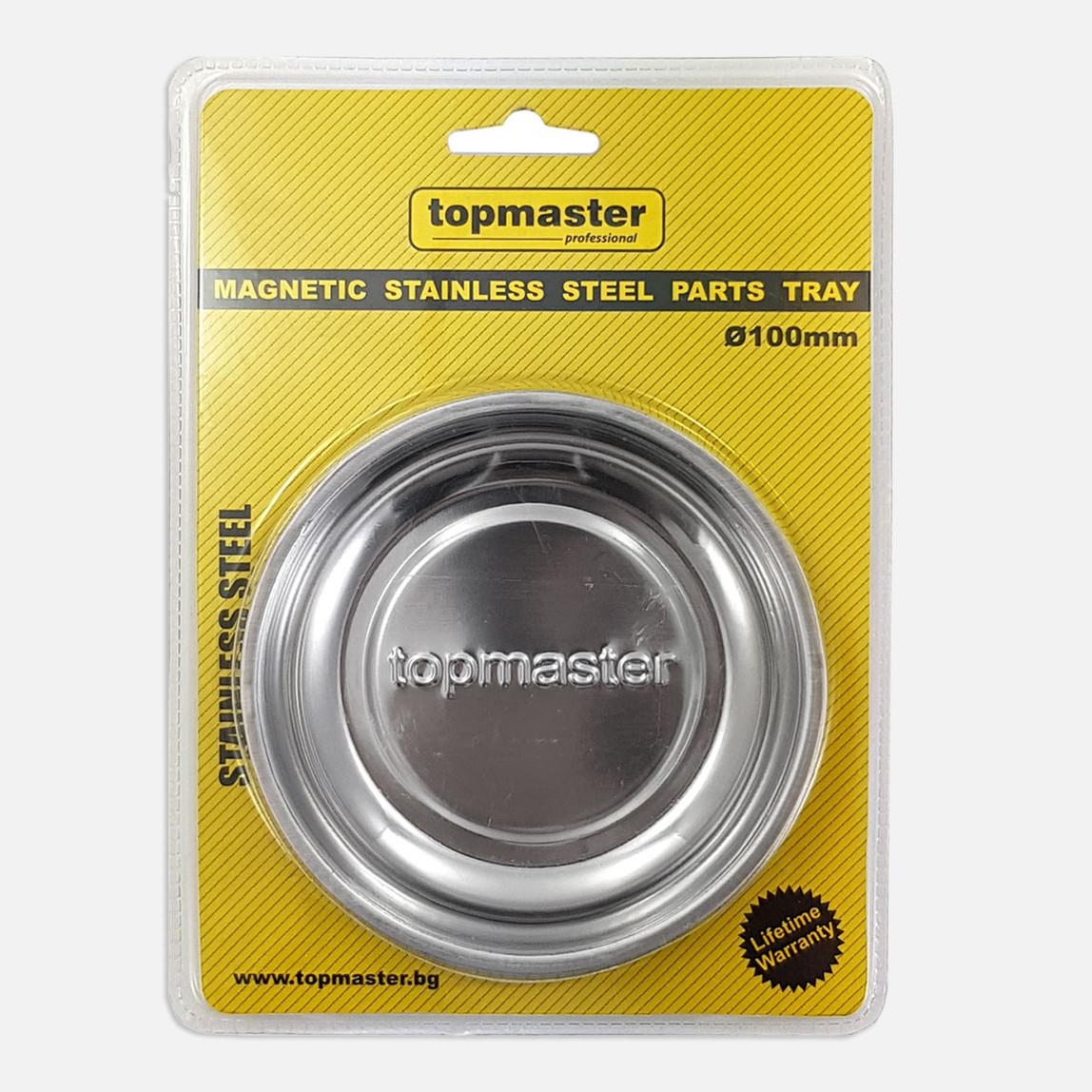 Topmaster 10cm Manyetik Tabak