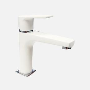 Azure Beyaz Krom Regular Lavabo Bataryası