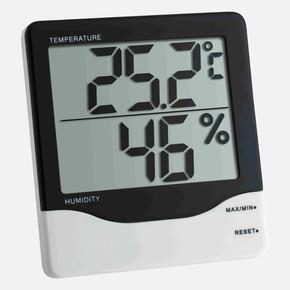 Dijital Termometre Higrometre Jumbo  -10..+60C  10..99%