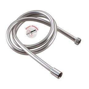 PVC Silver 150cm Dönerli Duş Hortumu