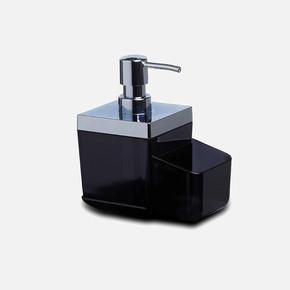 Toskana Mutfak Sıvı Sabunluk Şeffaf Siyah