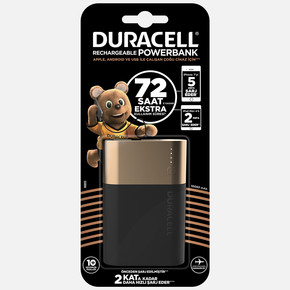 Duracell Powerbank 10050Mah 72 Saat