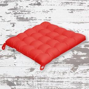 Rattan Sandalye Minderi Kırmızı 50x50cm