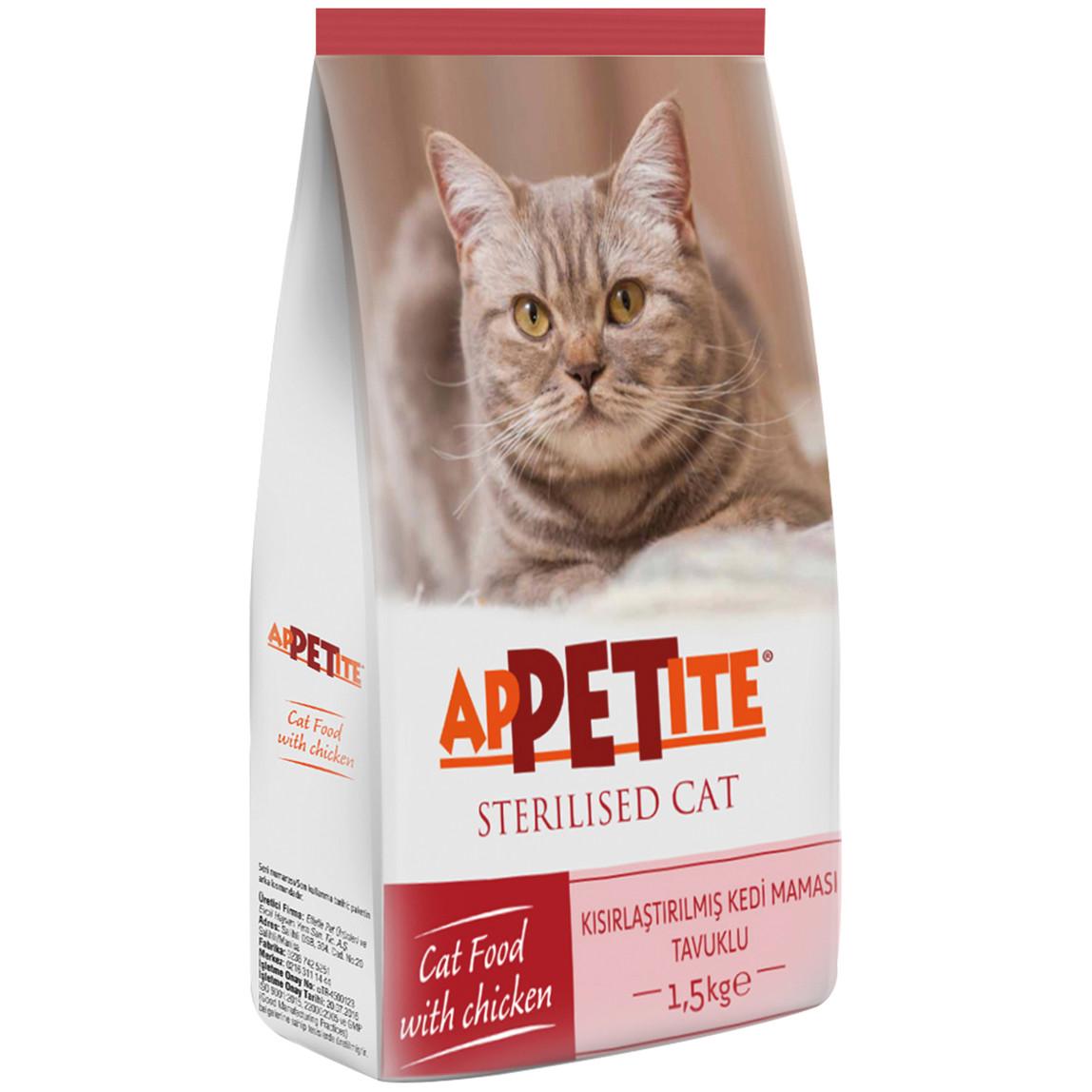 1,5Kg Kısırlaştırılmış Kedi Maması