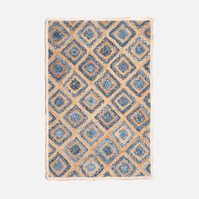 Sisal Kilim, MX 09 Denim 90x150 cm