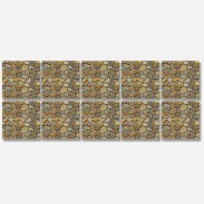 Desenli Pvc Karo 15*15 cm 10'lu Paket