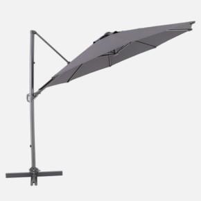Sunfun Şemsiye Koyu Gri 3m