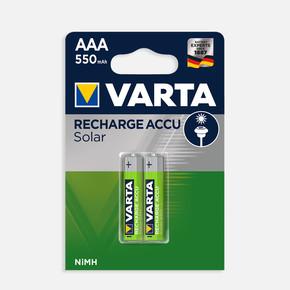 Varta 2'li Şarjlı Solar Pil