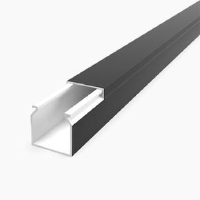16X16 Kablo Kanalı(Siyah) Sidem