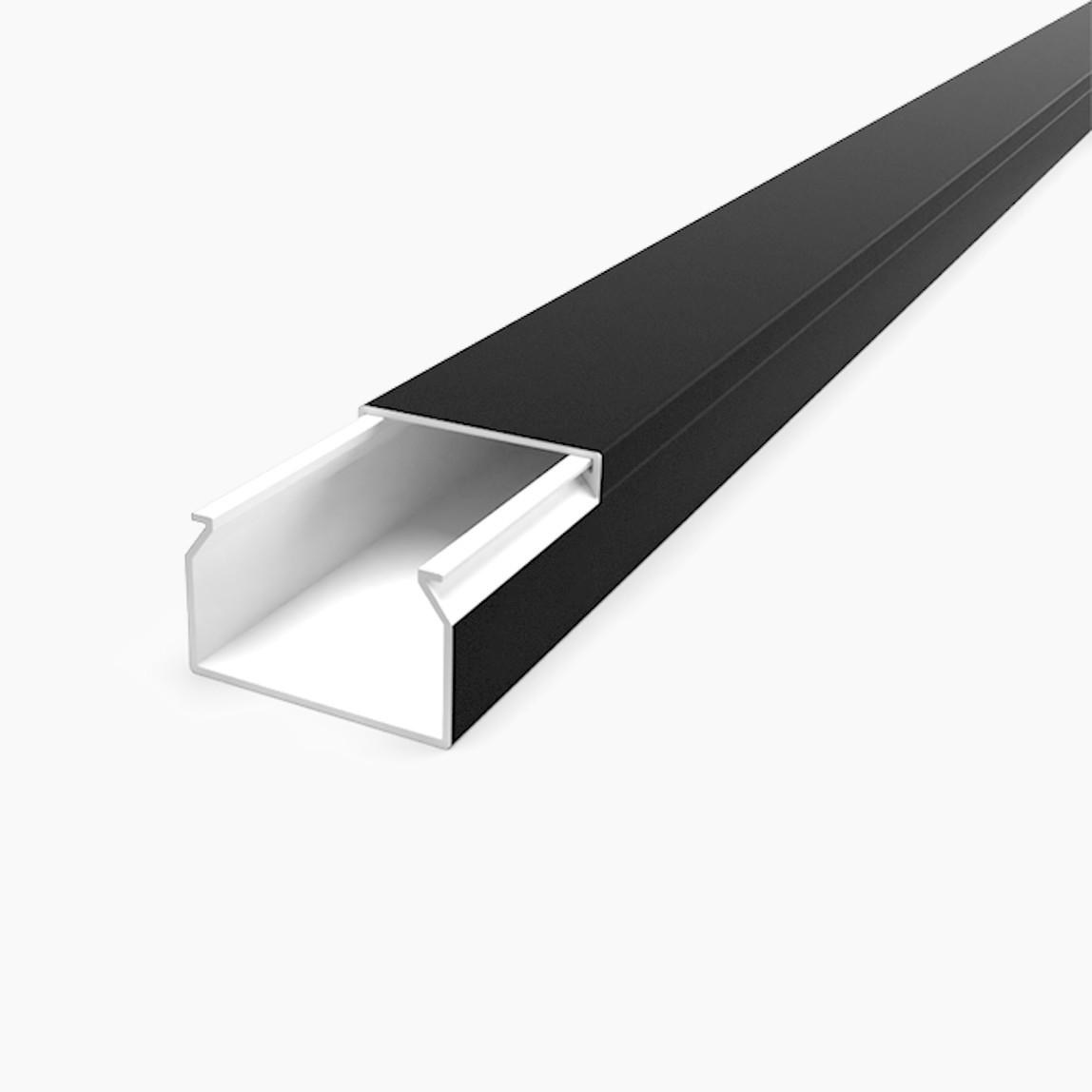 40X25 Kablo Kanalı(Siyah) Sidem