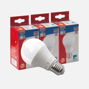 3'lü Eko Paket Led Ampul Beyaz Işık