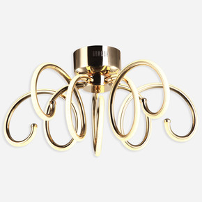 Volino 5'li Altın Led Plafonyer