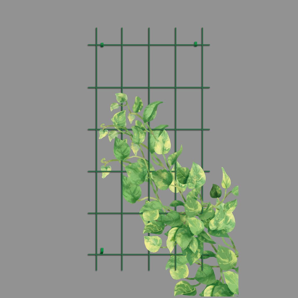 Gardener Sarmaşık Bitkilere Özel Destek Kafesi Yeşil 75 cm