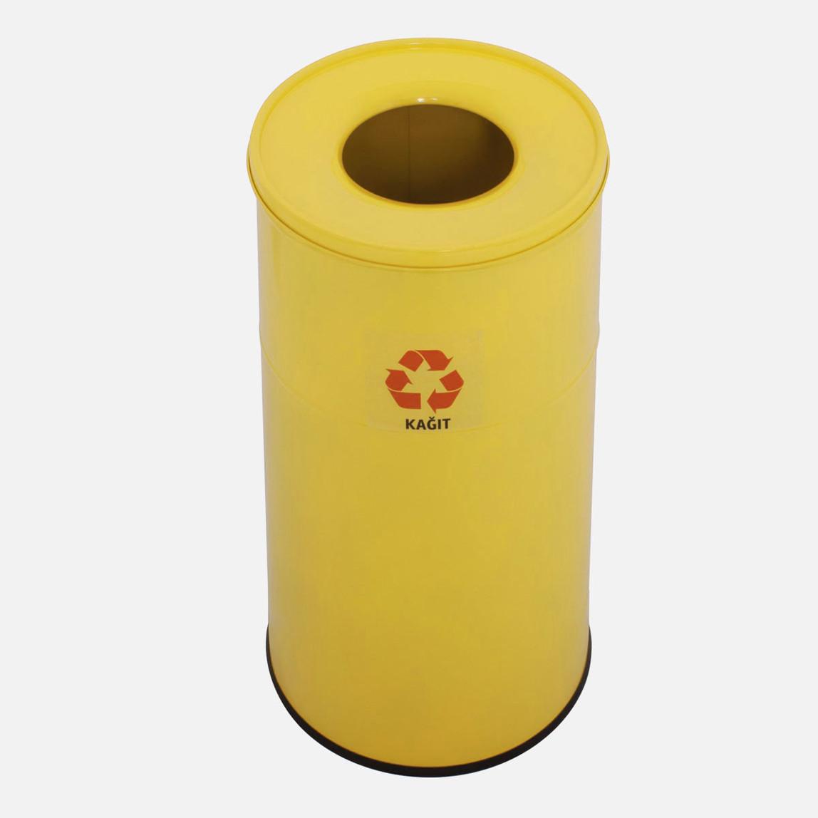 Geri Dönüşüm Çöp Kovası (Sarı)