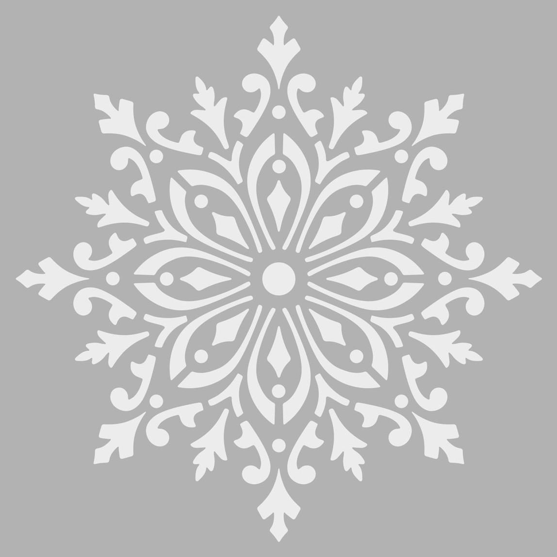Mandala 1 Stencil 30x30 cm