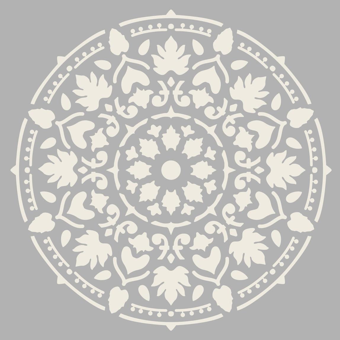 Mandala Stencil 30x30 cm