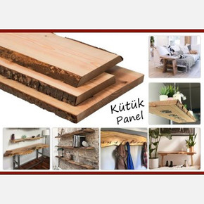 Kütük Panel 30Mm En: 31 - 35Cm Boy: 100Cm Ladin-Göknar