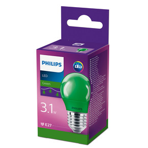 Led Colored P45 E27 Yeşil 1PF
