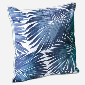 Palmiye Yastık Mavi 45x45cm