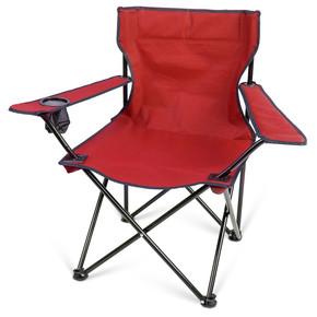 Sunfun Katlanır Kamp Sandalyesi Kırmızı