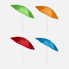 Solaro Renkli Plaj Şemsiyesi 180cm