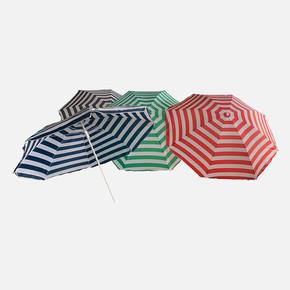 Solaro Çizgili Plaj Şemsiyesi 180 cm