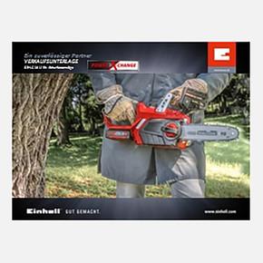 Einhell GE-LC18Lİ Akülü Ağaç Kesme Makinesi