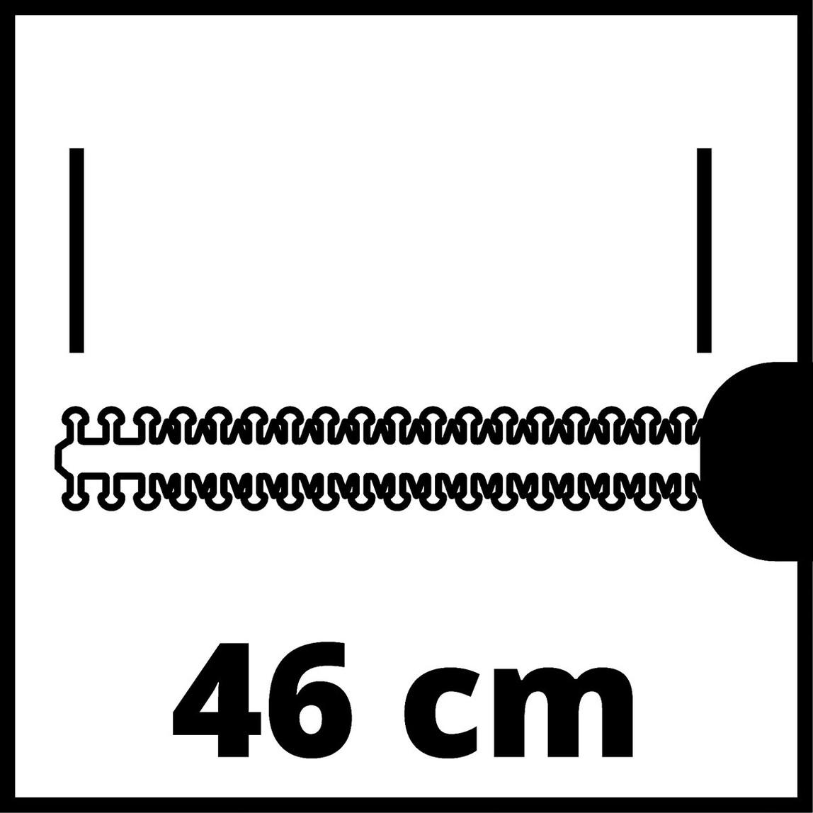 Akülü Çit Budama GE-CH 1846 Lİ KİT ( 1X2,0 Ah )