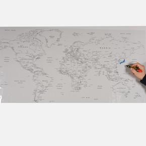 Pratik Tahta Dünya Haritası