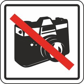 12x12 cm Pvc Fotoğraf Çekmek Yasaktır