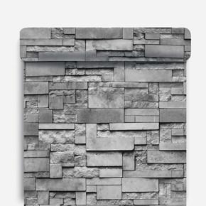 İnce Mermer - Siyah Duvar Kağıdı