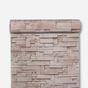 İnce Mermer - Bej Duvar Kağıdı