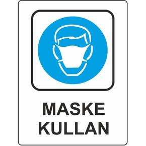 25x35 cm Pvc Maske Kullan