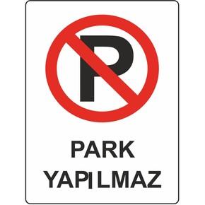 25x35 cm Pvc Park Yapılmaz