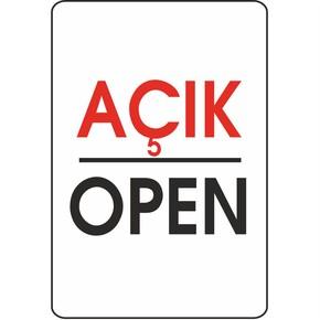 16x24 cm Pvc Açık-Open