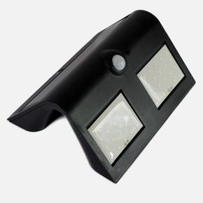 Solar 12W Sensörlü Aplik Siyah