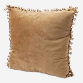 Kadife Kırlent Ponponlu 40x40 cm
