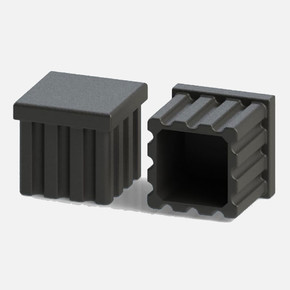 Plastik Çizgili Tapa İç 25x25 4'lü
