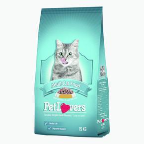 Petlovers Kedi Maması Tavuklu 15kg