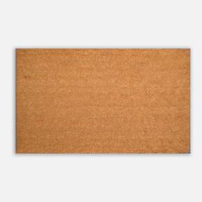 45X75Cm düz PVC Tabanlı Koko Paspas