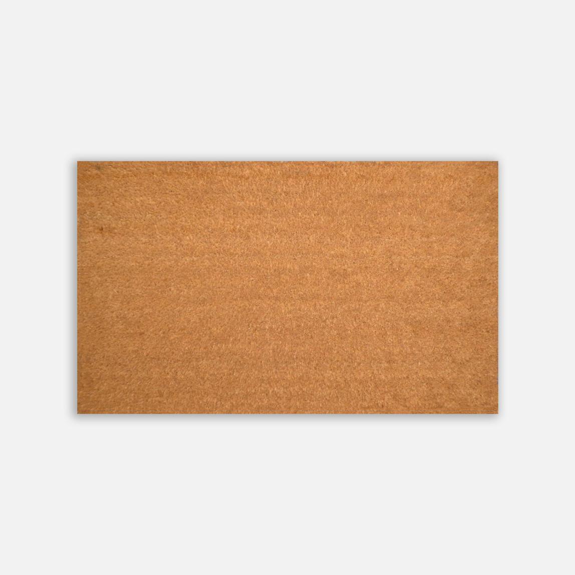 55x90 cm düz PVC Tabanlı Koko Paspas