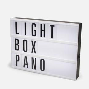 Petrix A6 Işıklı Harfli Pano