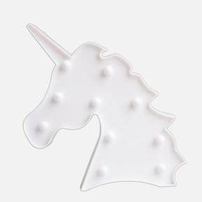 Unicorn Dekoratif Led Aydınlatma Beyaz