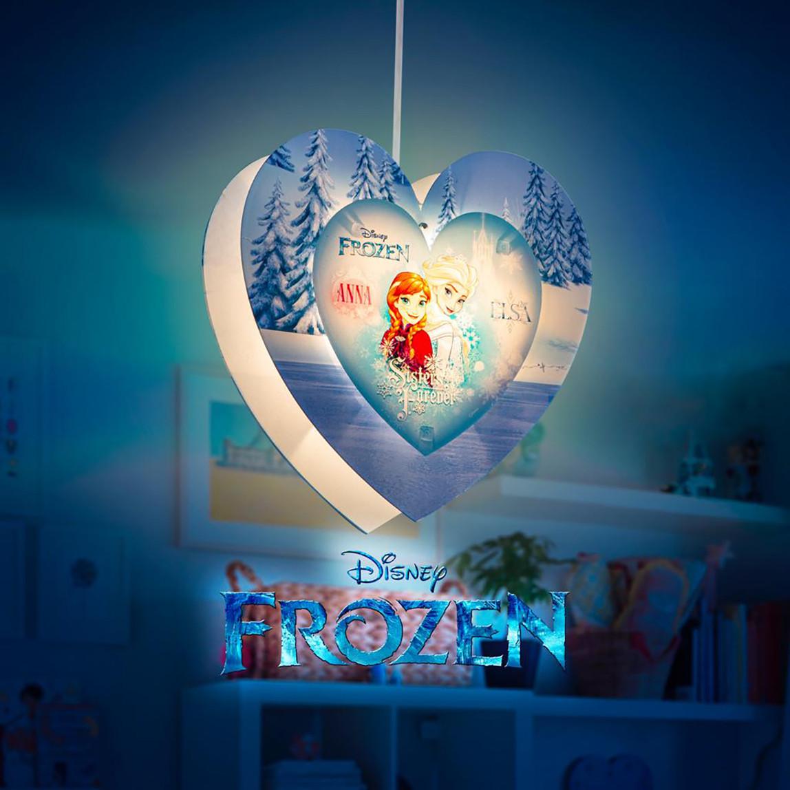 Frozen Kalp Plexi Tavan Lambası